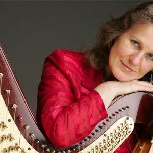 photo of Monika Stadler- harp player