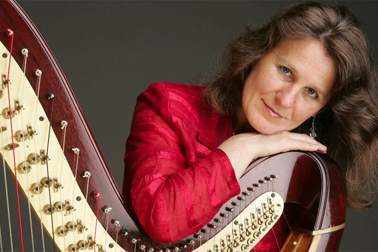 photo of Monika Stadler- harp player